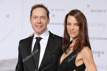 Stock Image of Jon Spaihts and Johanna Watts