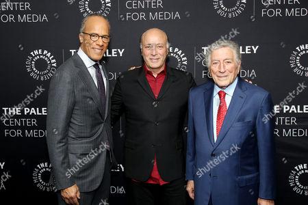 Lester Holt, Danny Bennett, Tony Bennett