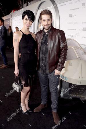 Editorial image of 'Passengers' film premiere, Los Angeles, USA - 14 Dec 2016