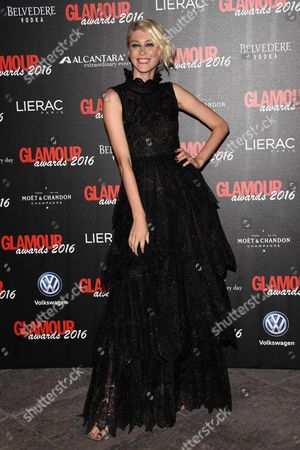 Editorial picture of Glamour Awards, Milan, Italy - 14 Dec 2016