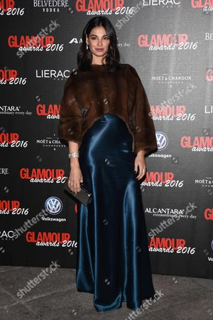 Editorial image of Glamour Awards, Milan, Italy - 14 Dec 2016