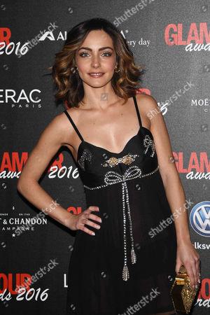 Editorial photo of Glamour Awards, Milan, Italy - 14 Dec 2016