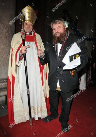 Right Reverend Richard Chartres and Brian Blessed