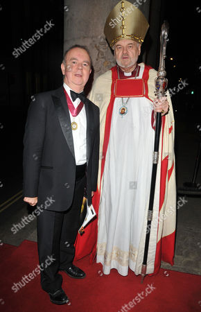 Ian Hislop and Right Reverend Richard Chartres