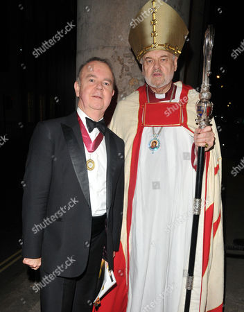 Stock Photo of Ian Hislop and Right Reverend Richard Chartres