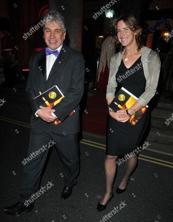 John Inverdale and Katherine Grainger