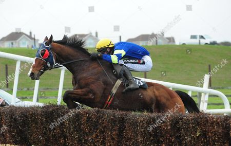 TRAMORE. FLUSPAR and Danny Mullins clears the final fence to win for trainer Danny Howard.