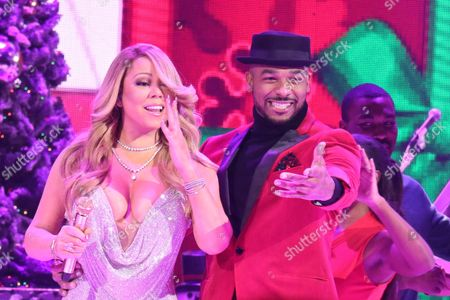 Editorial picture of Mariah Carey 'All I Want for Christmas Is You' concert, New York, USA - 14 Dec 2016