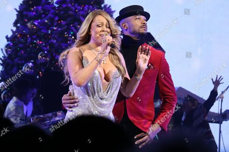 Editorial photo of Mariah Carey 'All I Want for Christmas Is You' concert, New York, USA - 14 Dec 2016