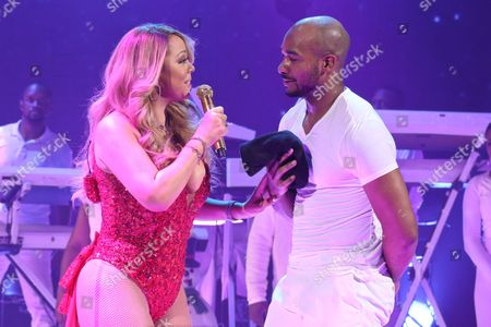 Mariah Carey and Anthony Burrell