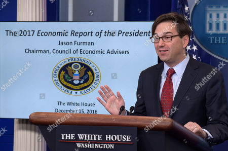 White House Council of Economic Advisers Chairman Jason Furman speaks during the daily briefing at the White House in Washington