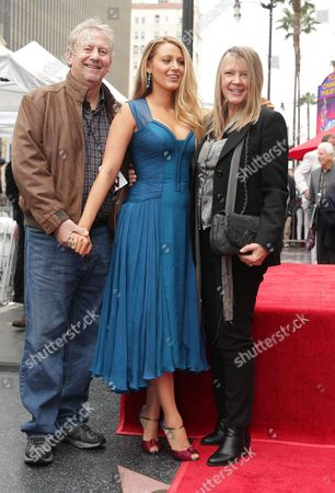 Ernie Lively, Blake Lively, Elaine Lively