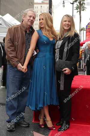 Stock Image of Ernie Lively, Blake Lively, Elaine Lively