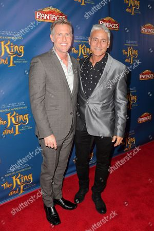 Gregory Jbara and guest