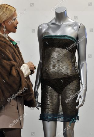 Editorial image of Britain Auction Kate Middleton See-through Dress - 17 Mar 2011