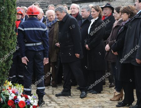 Editorial image of France Socialist Party Mitterand Commemoration - 08 Jan 2011