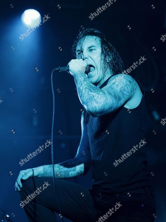 Editorial image of Usa As i Lay Dying in Concert - 30 Jan 2008