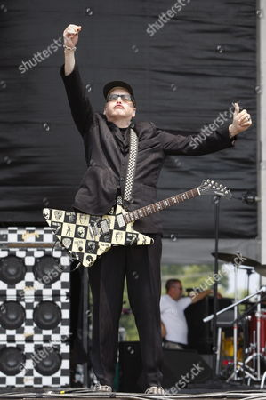Rick Neilsen of Cheap Trick During Their Performance at the 2007 Virgin Festival at Pimlico Racetrack in Baltimore Maryland Usa 04 August 2007 the Virgin Festival Made Its U S Debut Last Year in Baltimore with 40 000 Fans and Such Acts As the who Now It Returns to Pimlico Race Course with an Expanded Two-day Lineup of Big Names Such As the Police and Amy Winehouse United States Baltimore