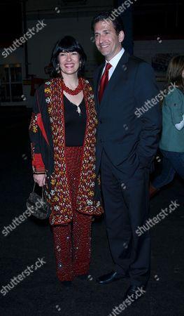 Christiane Amanpour and James Rubin