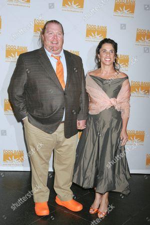 Mario Batali and wife Susi Cahn