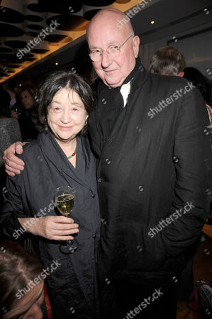Stock Picture of Fay Maschler and Reg Gadney