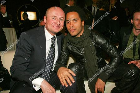 George Kern and Lenny Kravitz