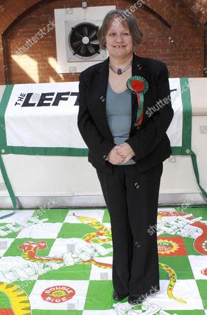 Lindsey German, Left List London Mayoral candidate.