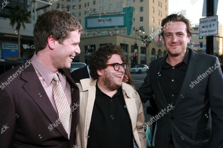 Director Nick Stoller, Jonah Hill and Jason Segel