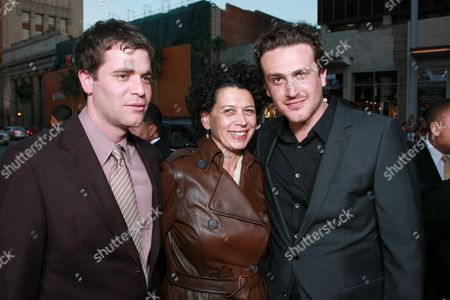 Director Nick Stoller, Uni's Donna Langley and Jason Segel