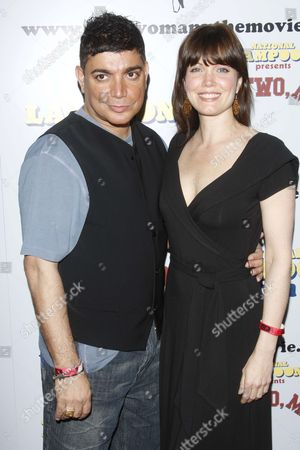 Michael DeLorenzo and Bellamy Young