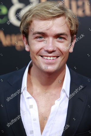 Uk Actor Emrhys Cooper Arrives at the Special Screening of 'Julie & Julia' at the Mann Village Theater in Los Angeles California Usa 27 July 2009