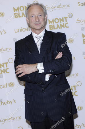 Montblanc International Ceo Lutz Bethge Attends the Unicef Benefit at Sotheby's in New York Usa 08 May 2009 Montblanc and Sotheby's Support Global Education and Literacy Programs