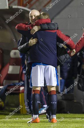 Editorial picture of Football - Ladbrokes Scottish Premiership 2016/17 Hamilton v Rangers New Douglas Park, Cadzow Avenue, Hamilton, United Kingdom - 16 Dec 2016