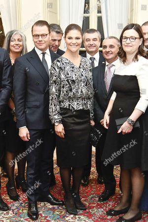 Editorial photo of Swedish royals visit to Italy - 16 Dec 2016