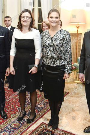 Anna Ekstrom and Crown Princess Victoria