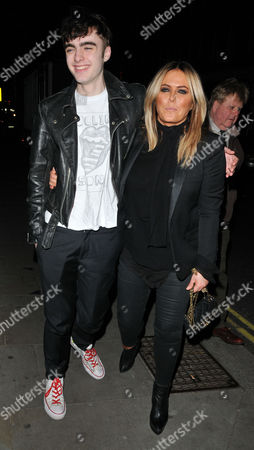 Lennon Gallagher and Patsy Kensit