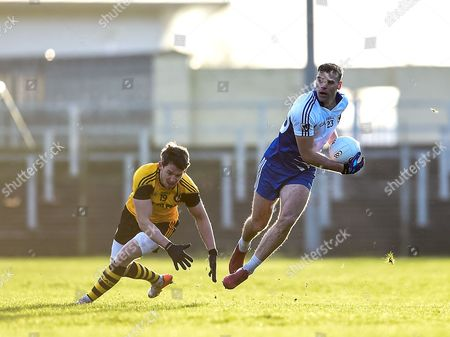 Connacht vs Ulster. Connacht's Donal Wrynn with Mattie Donnelly of Ulster