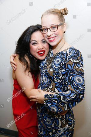 Maria-Christina Oliveras and Alyse Alan Louis