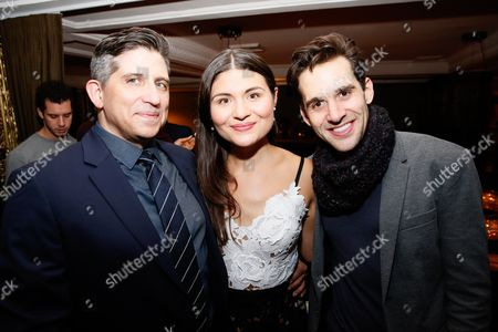 Daniel Messa, Phillipa Soo and Adam Chanler-Berat