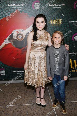 Lilla Crawford and Mason Mahay