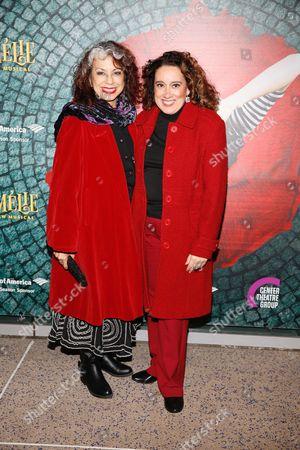 Rose Portillo and Eileen Galindo