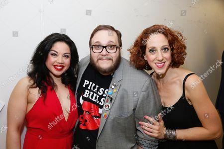Maria-Christina Oliveras, Randy Blair and Alison Cimmet