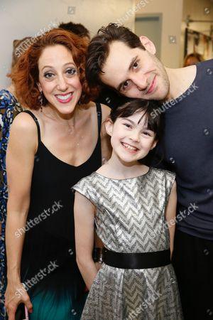 Alison Cimmet, Savvy Crawford and Adam Chanler-Berat