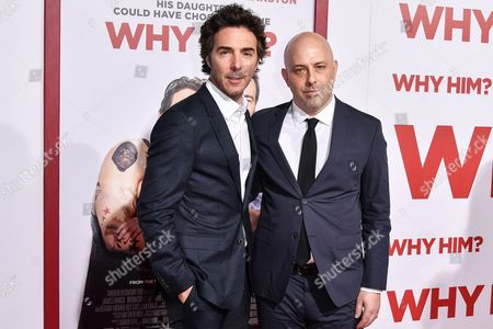 Stock Picture of Shawn Levy and Ian Helfer