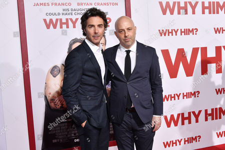 Editorial picture of 'Why Him?' film premiere, Los Angeles, USA - 17 Dec 2016