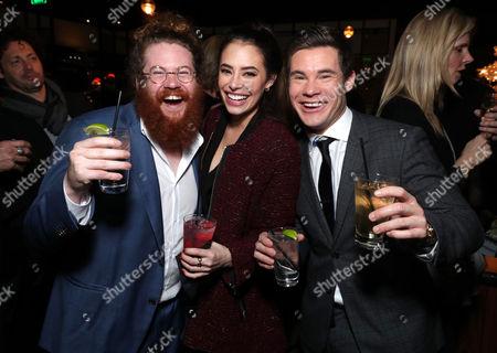 Zack Pearlman, Chloe Bridges, Adam Devine