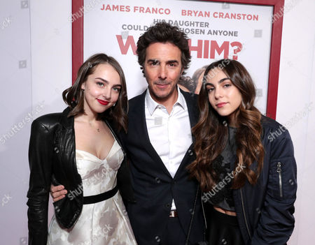Stock Picture of Sophie Levy, Shawn Levy, Tess Levy