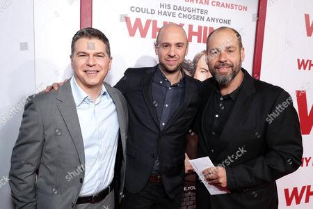 Stock Picture of Dan Levine, John Hamburg, Kris Kachikis