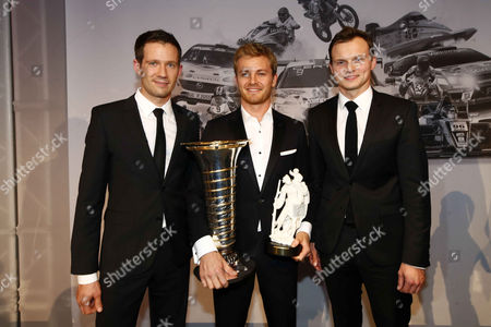 Sebastien Ogier, Nico Rosberg, Marc Lieb