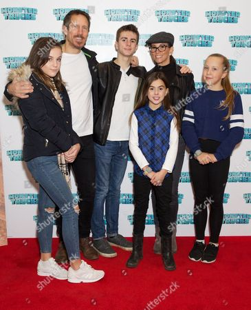 Tialily, Nick Feeney, Finlay John Green, Amy Jane Toms, Andrea McLean and Sienna